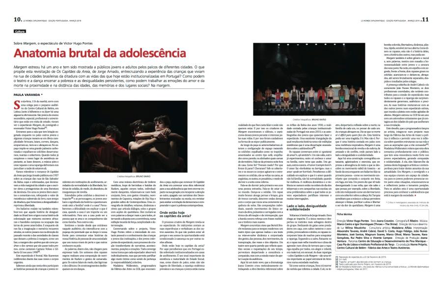 MARGE - anatomia brutal da adolescência - Paula Varanda LMDP 2019